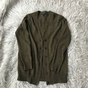Cozy Wool J Crew Cardigan